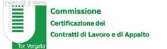 Commissione Certificazione dei Contratti di Lavoro e Appalti